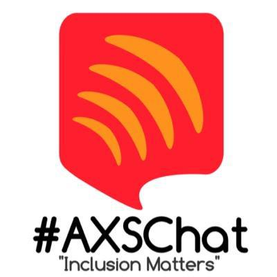 AXS Chat logo - this links to website for popular accessibility online chat