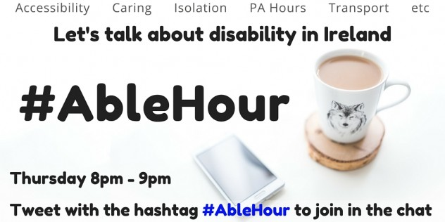 #AbleHour - Dublin 15 Leaders Forum online chat every Thursday at 8pm