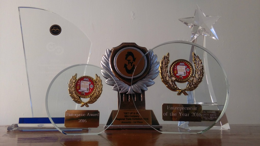Awards received by Freya for All About Autism