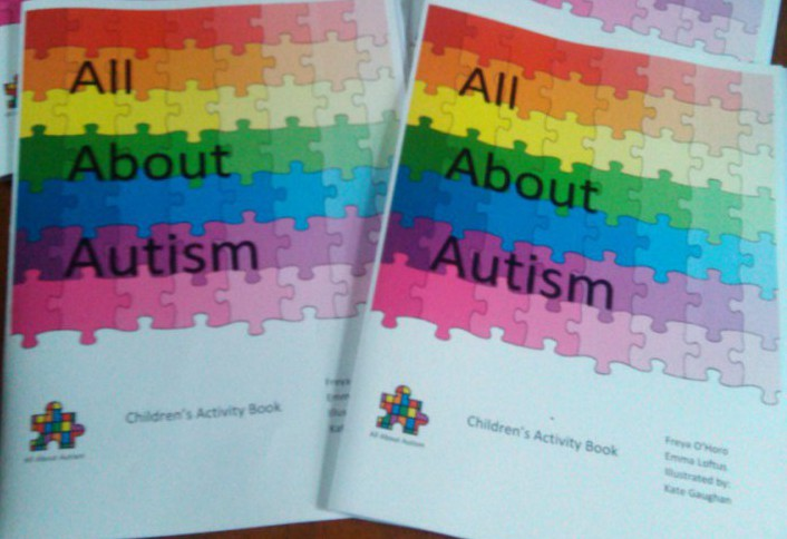 All About Autism Workbook for Children Cover