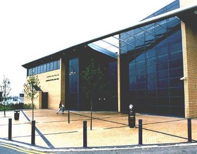Dublin 15 Disability Peer Group Location is Blanchardstown Library and this is a photograph of the library exterior