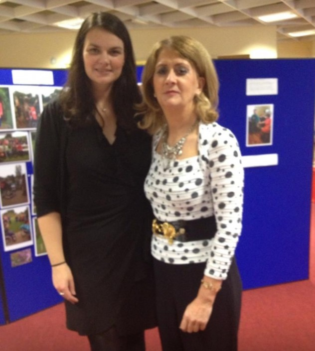 Lovely picture of Naoise and Colette at a Dublin 15 Disability Peer Support group event