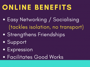 03 Benefits of being online
