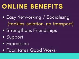 03 Benefits of being online