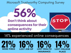 13 Survey Results of US adults by Microsoft