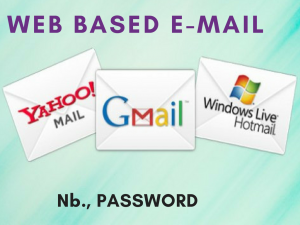 18 web based email